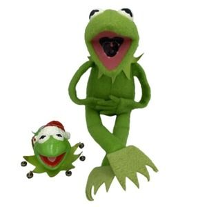 Vintage Fisher Price Kermit The Frog and Ornament